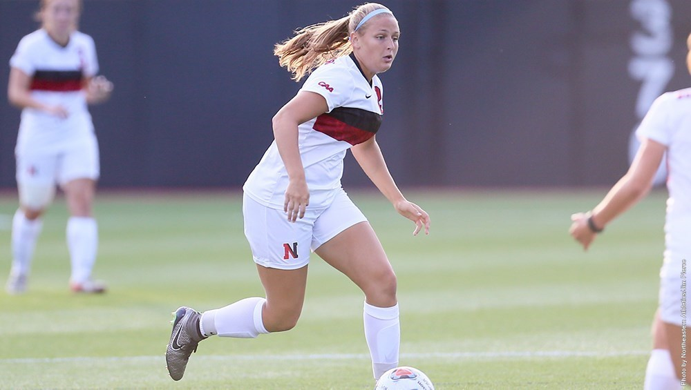 With an extra-time penalty kick goal on Sunday, Hannah Rosenblatt tallied her third game-winner of the season and gave NU a crucial 1-0 victory over Drexel (Image Credit: GoNU).